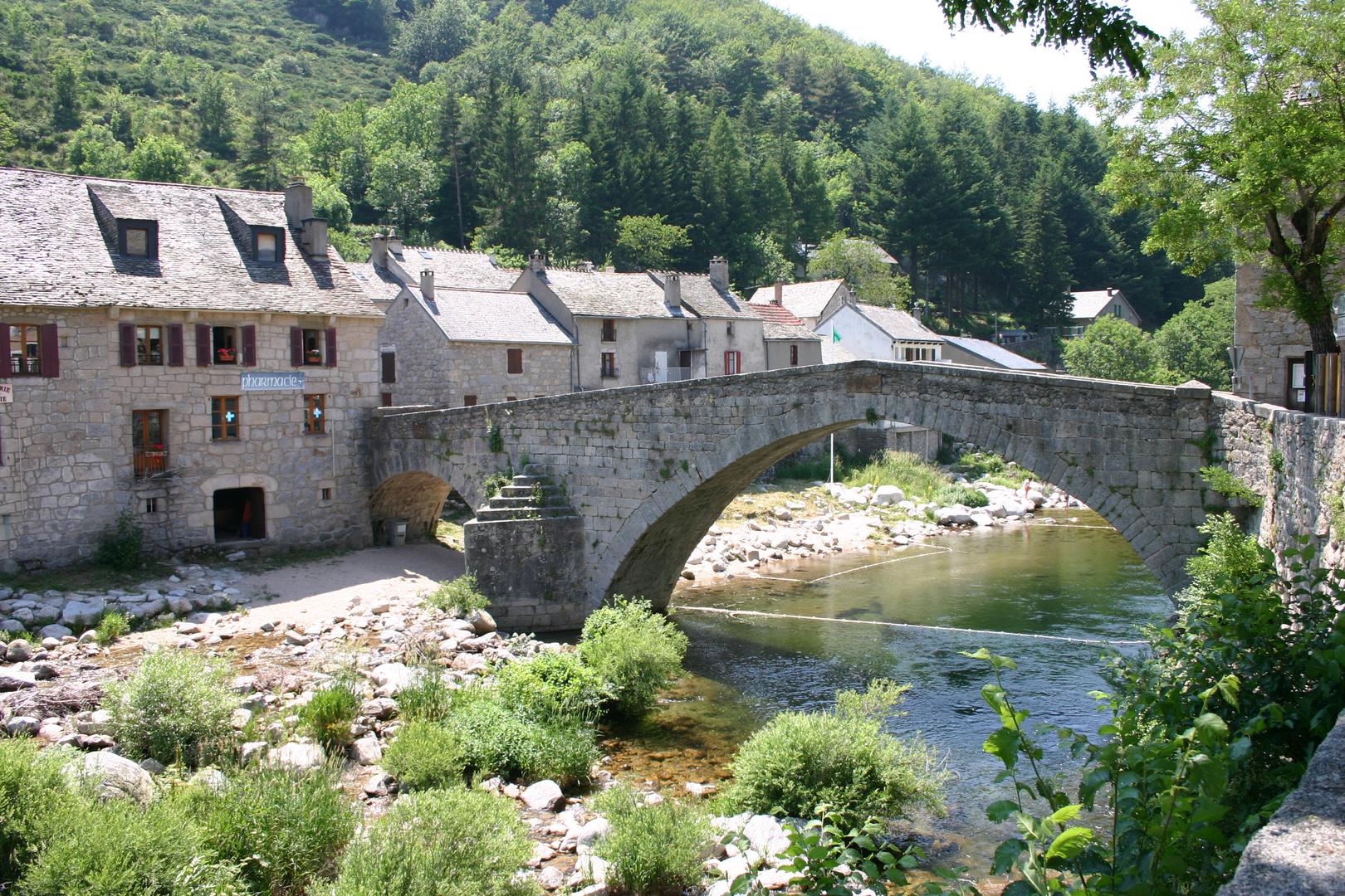Le Pont-de-Montvert, Brücke über den Tarn