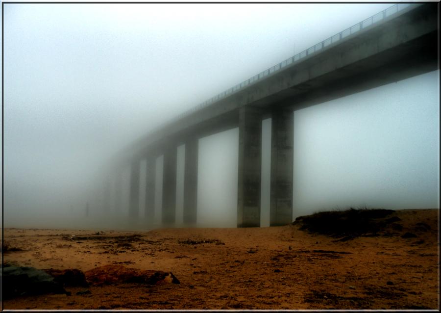 Le pont de Noimoutier a disparu....