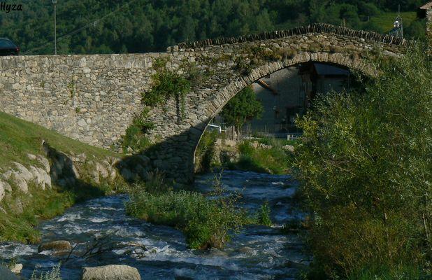 Le pont d'Espot.