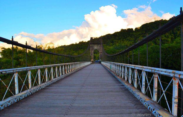Le pont piétons