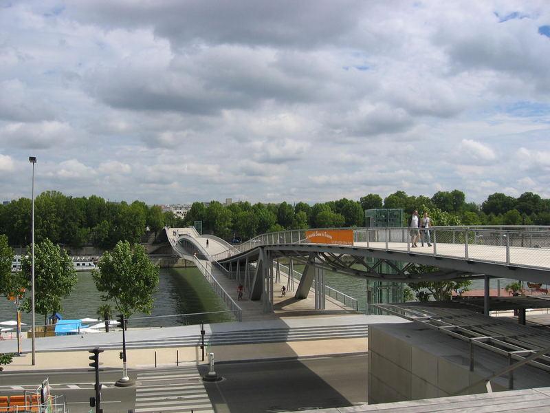 le pont Simone de Beauvoir