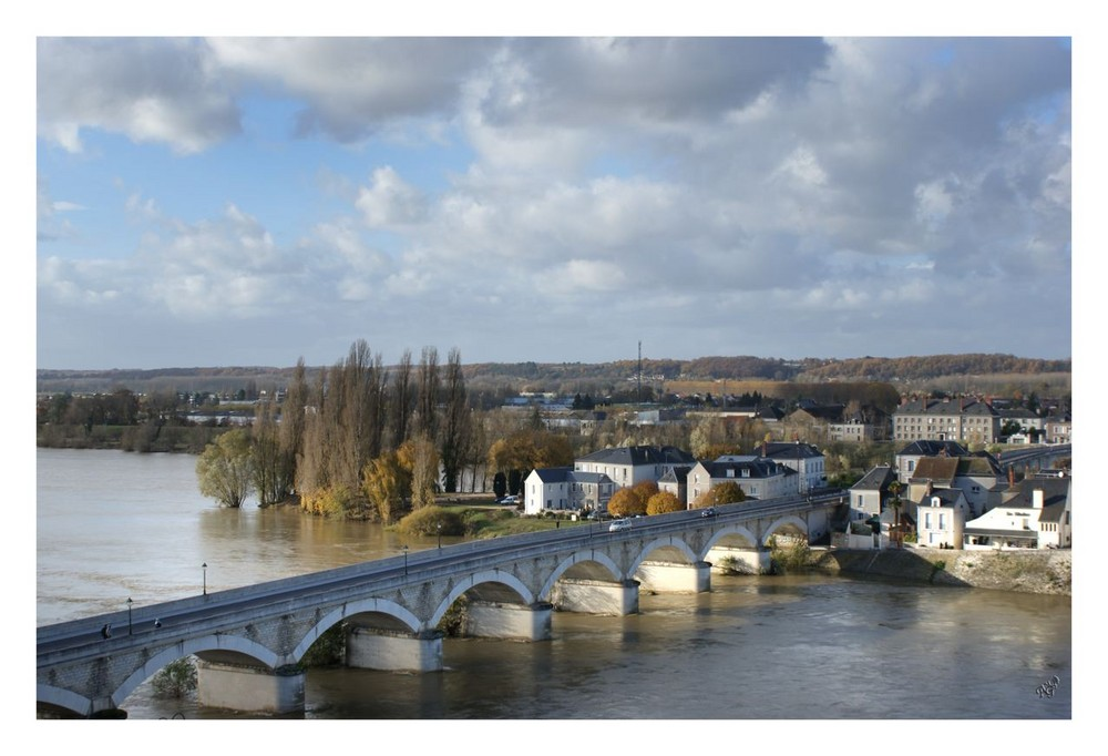 le pont sur la Loire