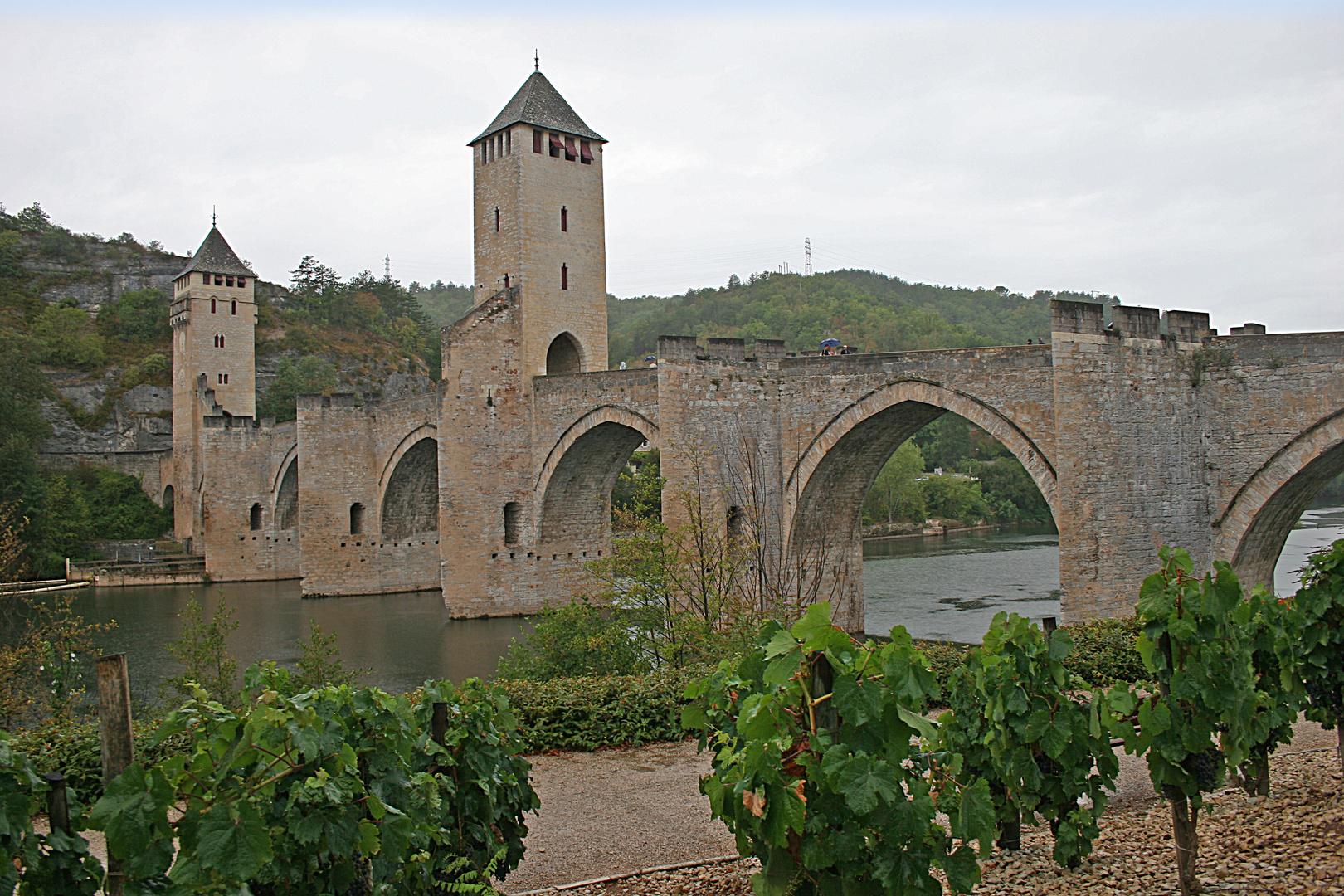 le pont Valentré, Cahors, Lot