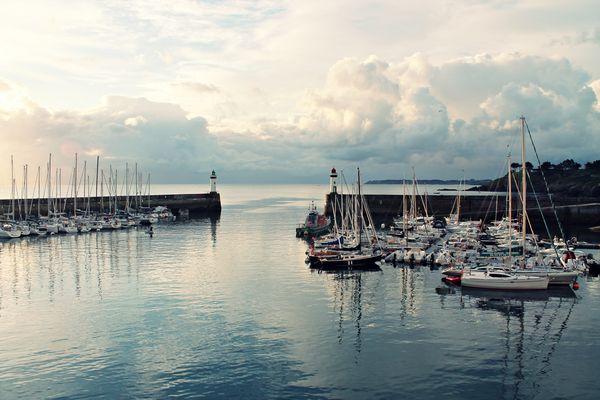 Le port de Belle-Ile.