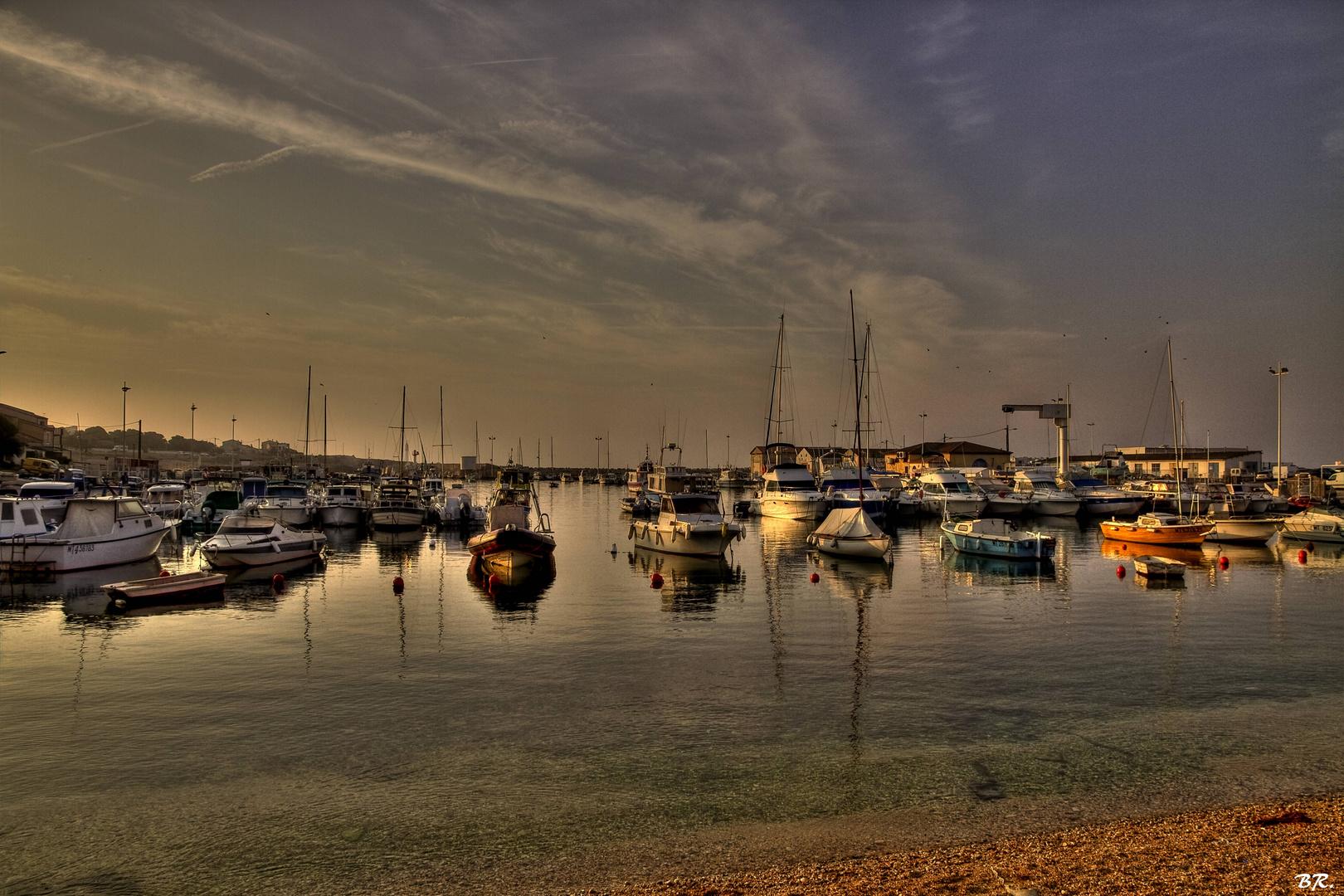 le port de Carro