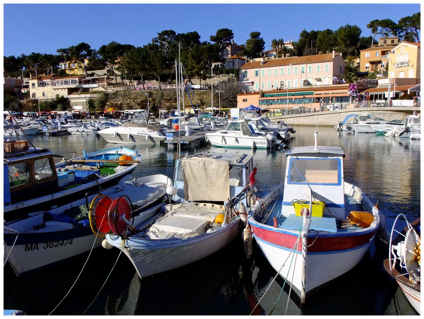 Le port de Carry-le-Rouet
