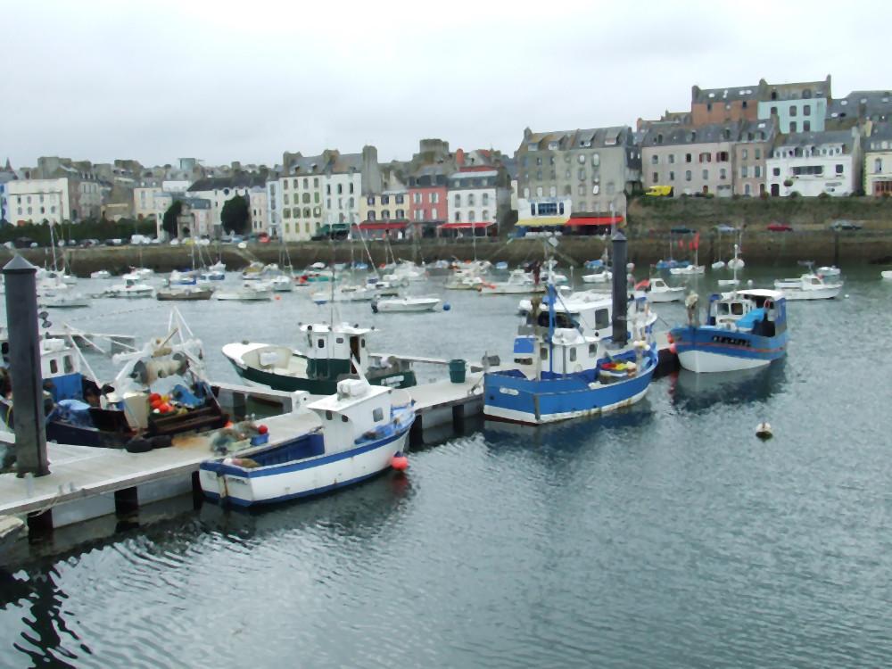 Le port de Douarnenez (Finistère)