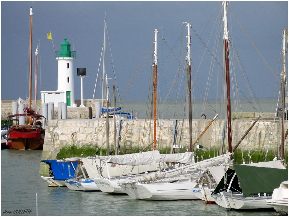 Le port de La Flotte en Ré.