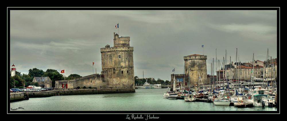 Le port de La Rochelle...