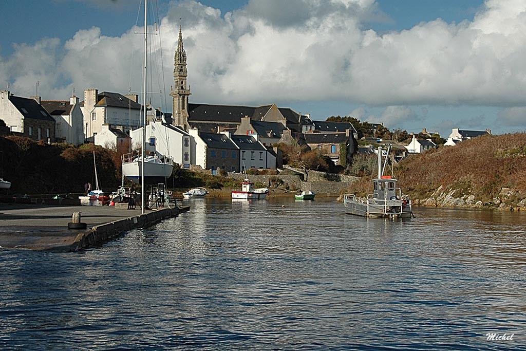 Le port de Lampaul (île d' Ouessant)
