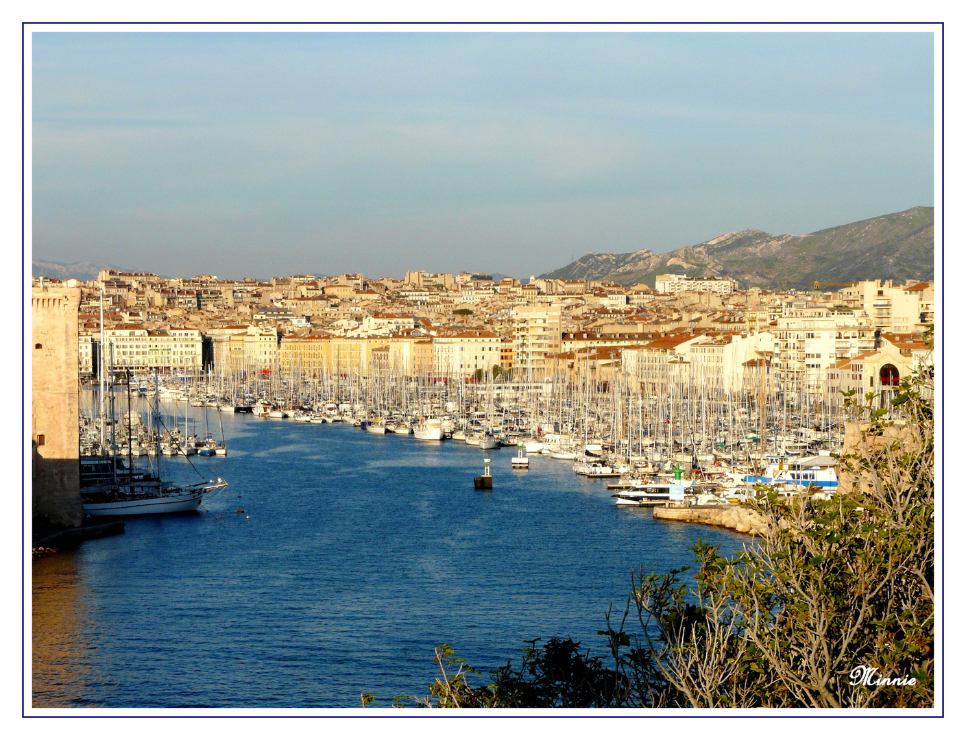""""""" Le port de Marseille """""""