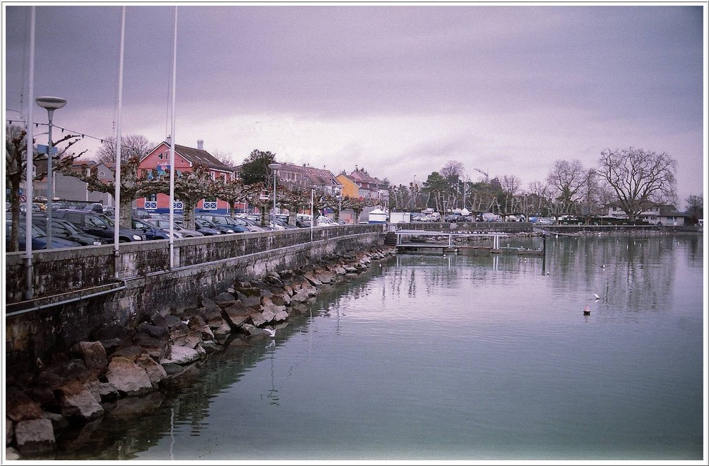 Le port de Nyon