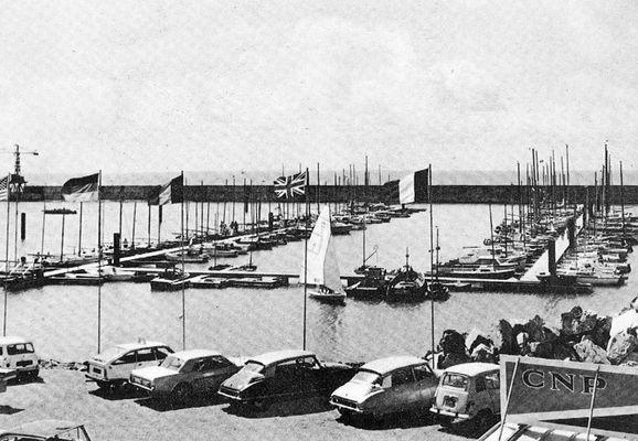 Le port de Pornic (Loire-Atlantique) en août 1961