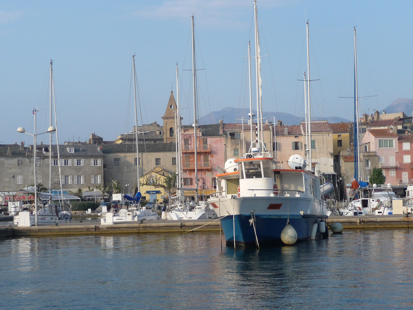 Le port de Saint Florent -Haute Corse