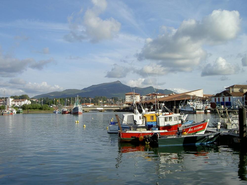 Le port de Saint-Jean de Luz