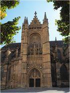 Le portail Saint-Jean (gothique flamboyant)  Cathédrale Saint-Etienne de Limoges