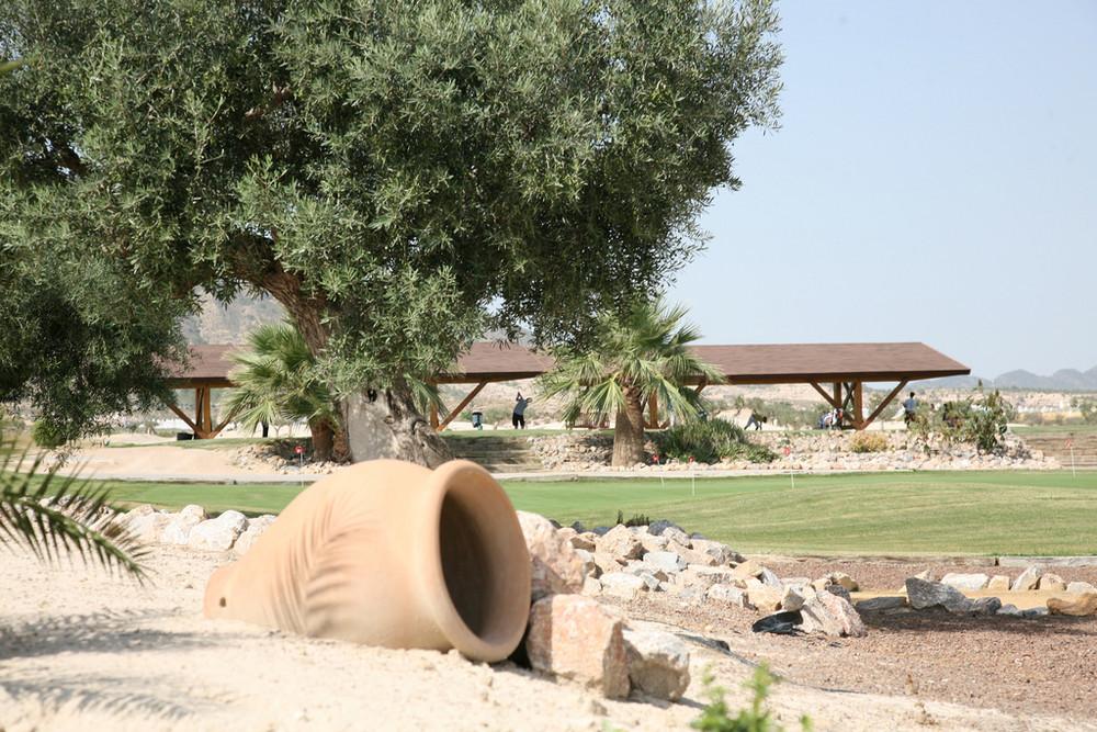 Le Practice de golf de Mosa Trajectum Murcia