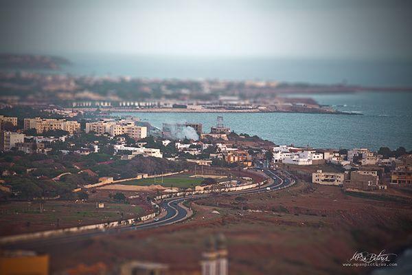 Le premier tilt shift de la ville de Dakar
