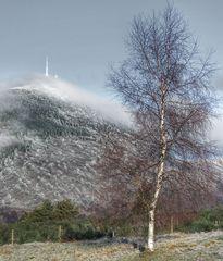 Le Puy de Dôme après la burle