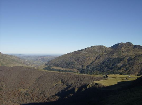Le Puy Mary dans le Cantal