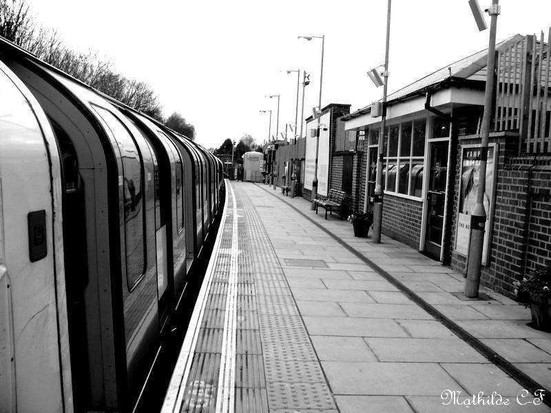Le quai de la gare