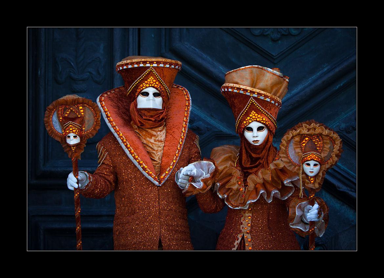 Le quattro maschera