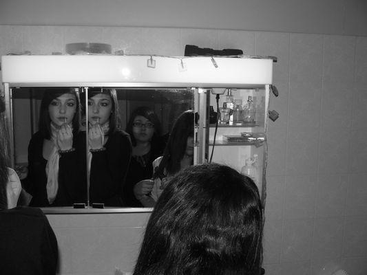le reflet du miroir...