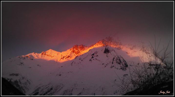 Le réveil de la montagne