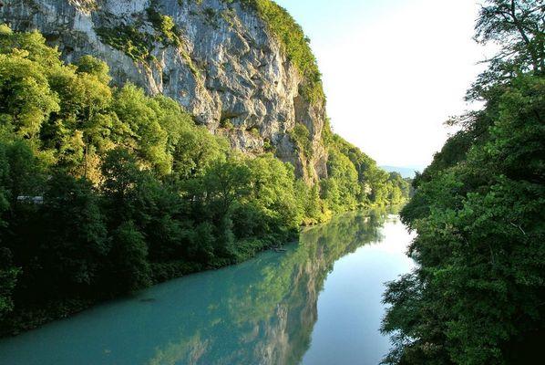 Le Rhône à La Balme