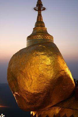 Le Rocher d'or Birmanie