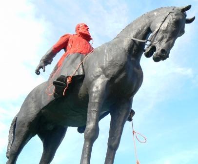 Le roi Léopold 2, rouge de honte, a bien meilleure mine