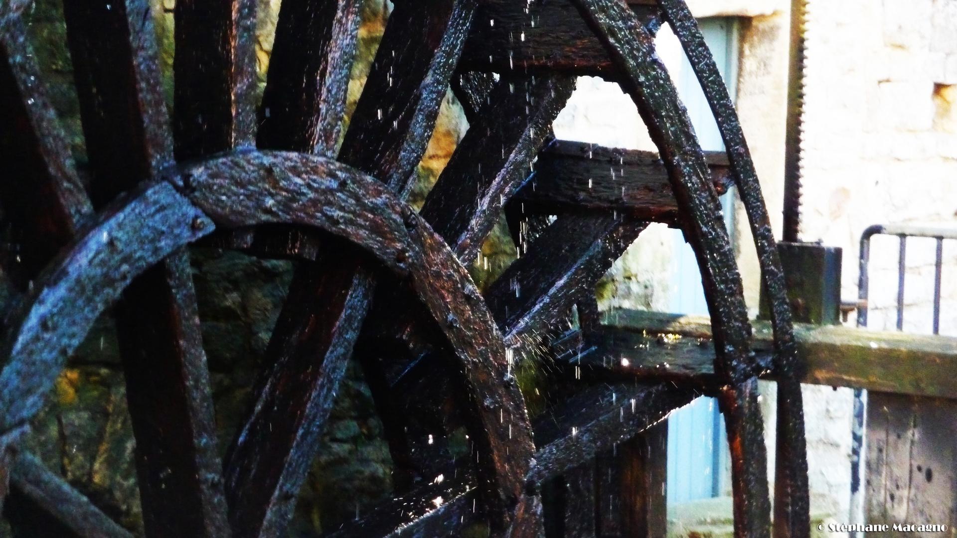 Le roue transpire
