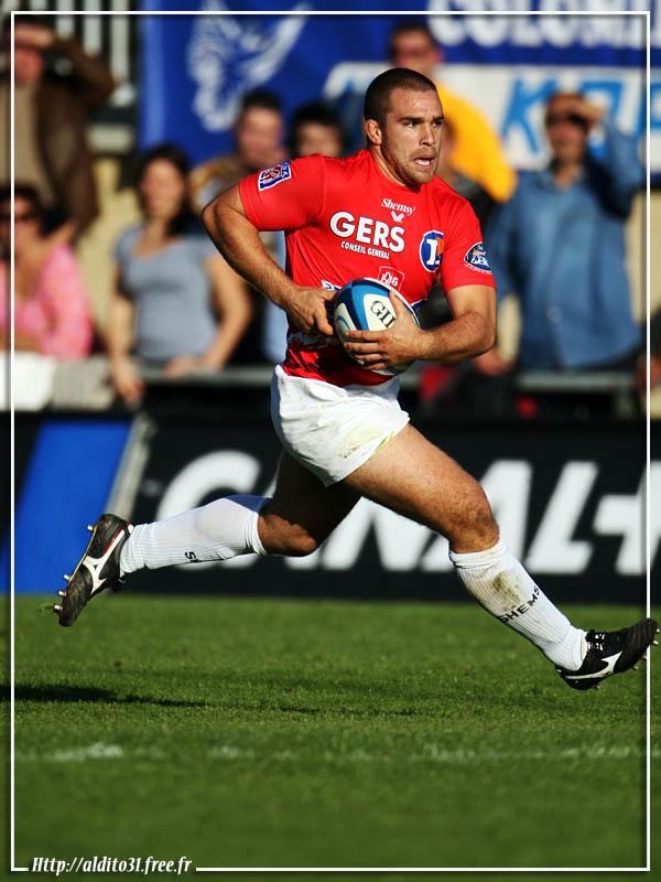 le rugby auscitain en terre columéraine