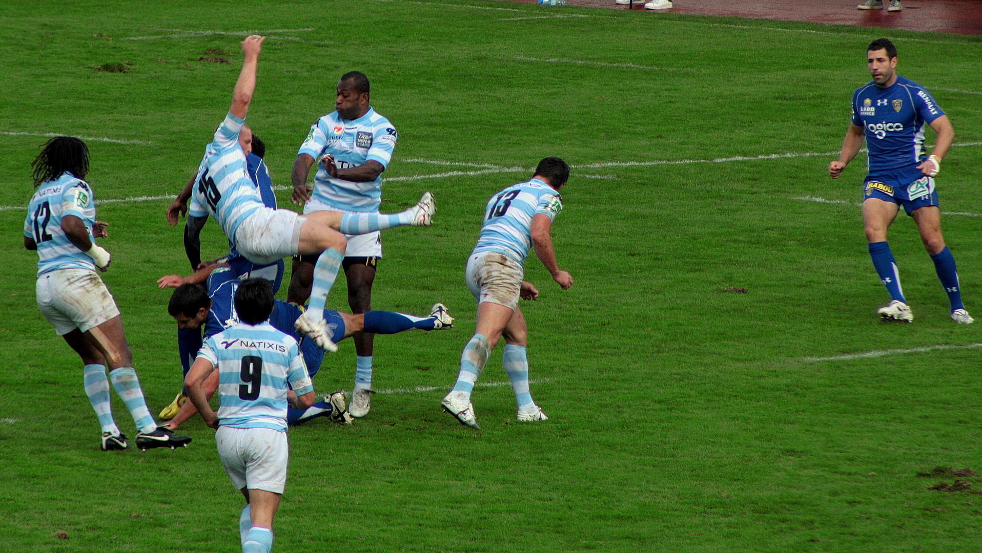 le rugby, un sport de gentlemen!!