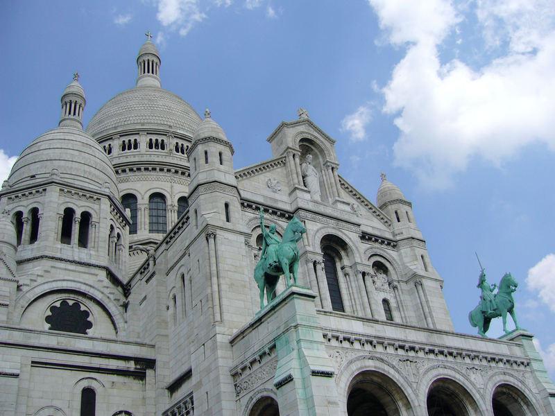 Le Sacré-Coeur à Paris