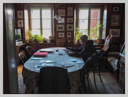Le salon à l'anciennne