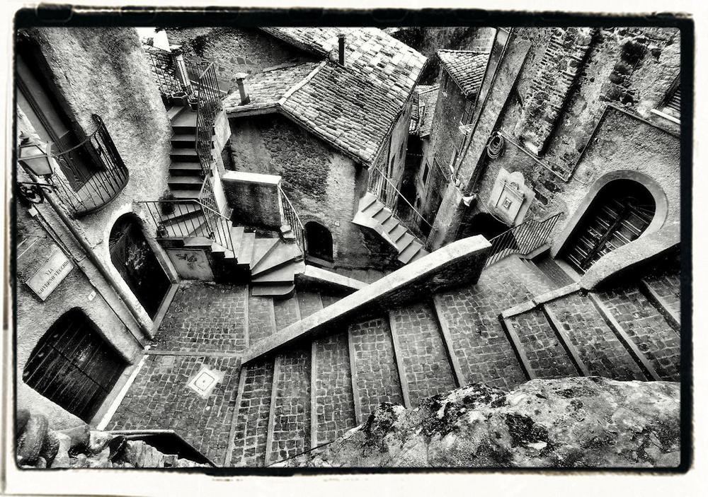Le scale di escher foto immagini i fotografi del mese - Foto di scale ...