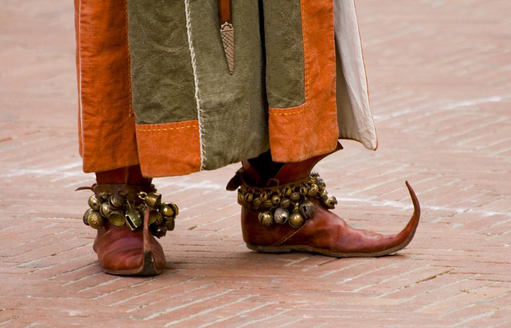 Le scarpe del suonatore