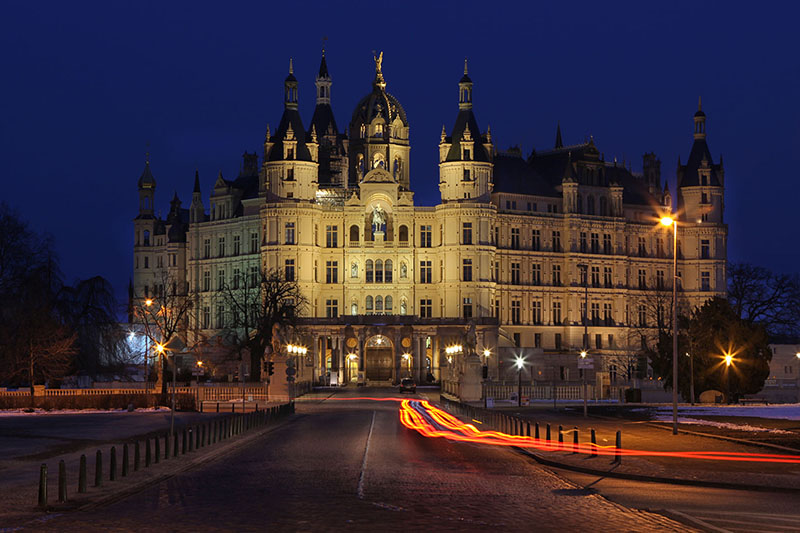 Le Schloss von Schwerin.