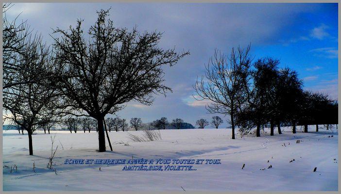 Le silence de l'hiver ...