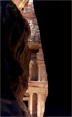 Le Siq et le trésor de Petra