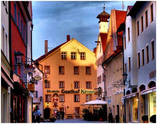 Le soir à Füssen