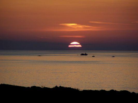 Le soir à Paros