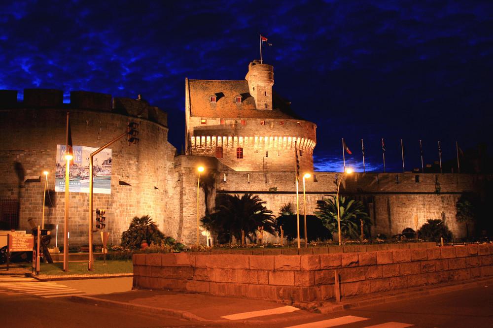Le soir à St Malo
