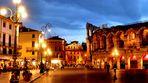Le soir à Vérone