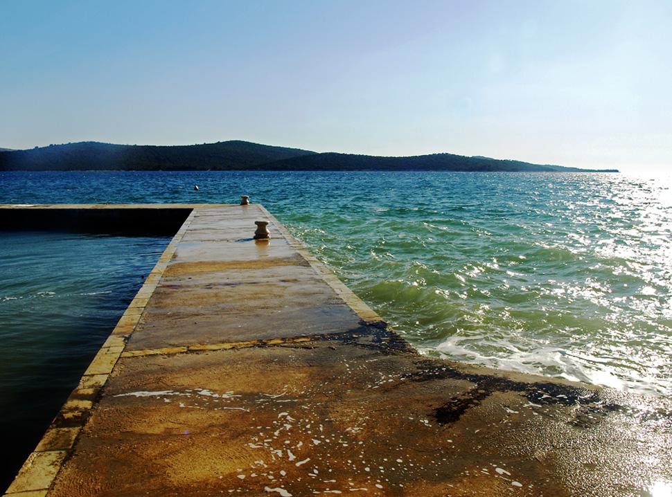 Le soleil a la mer ... Die Sonne am Meer ...