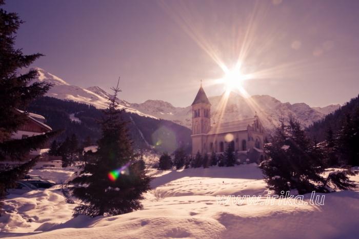 Le soleil d'Alpes