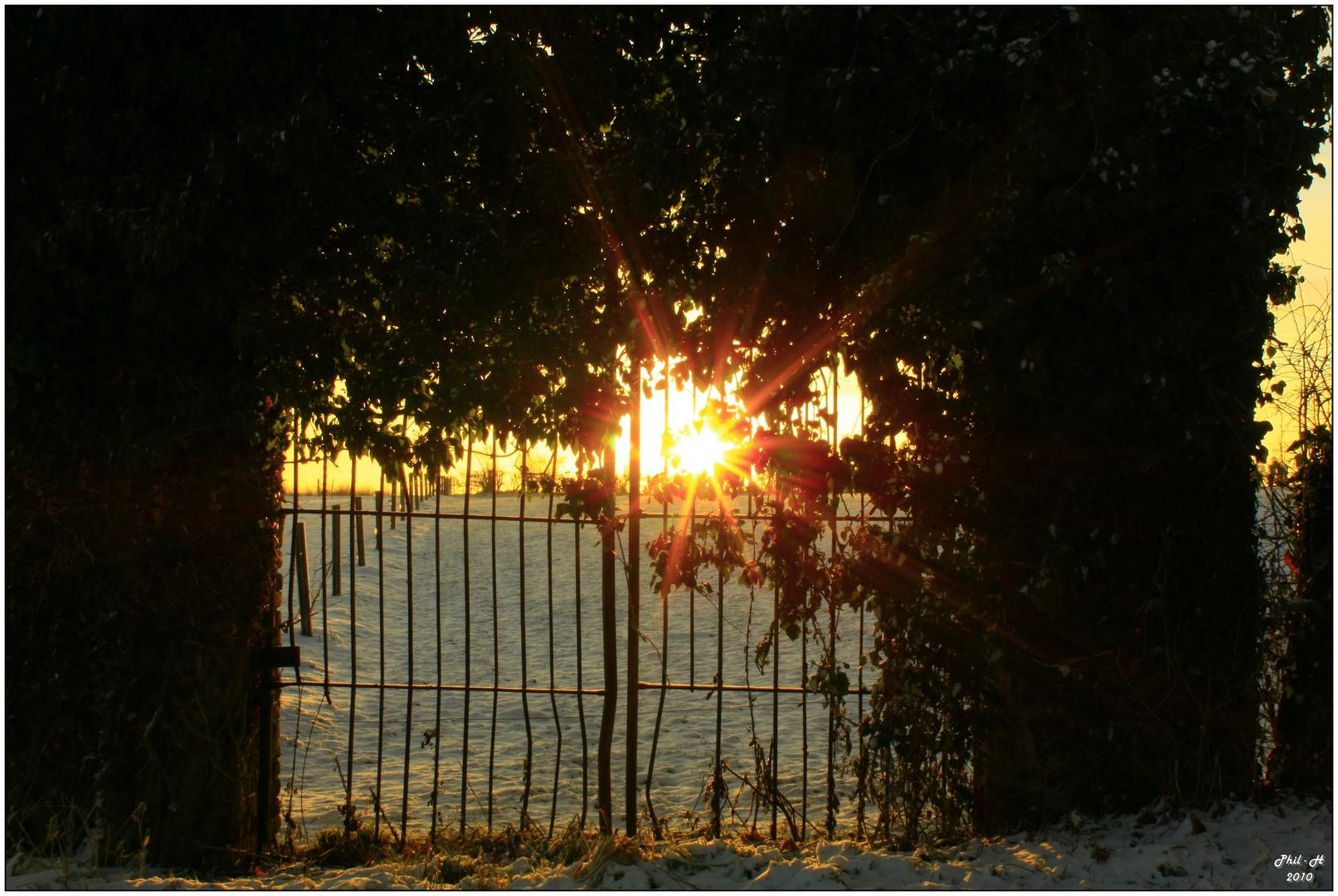 le soleil emprisonné