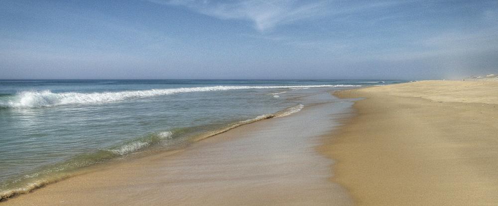Le soleil, l'eau, le sable
