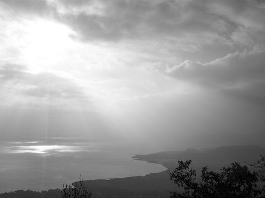 Le soleil perce sur la Hongrie...